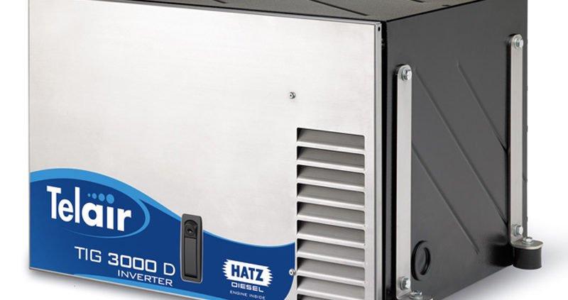 telair generator inverter TIG 3000 D