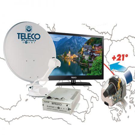 TELECO FLATSAT ELEGANCE Smart SKEW