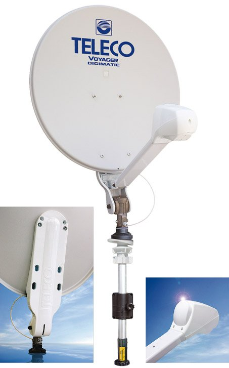Voyager Digimatic Satellietantenne