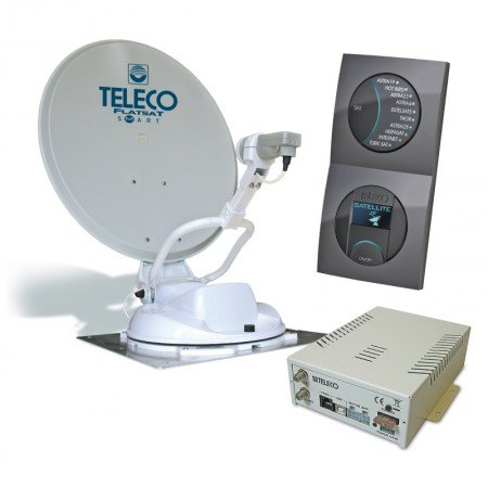 Teleco Flatsat CLASSIC EASY SMART schotel antenne satelliet tv camper caravan