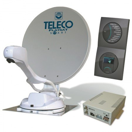 Teleco Flatsat Easy SMART schotel antenne satelliet tv camper caravan