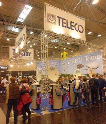 Teleco op de beurs in Essen