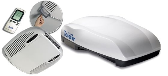 Telair 8400H Silent airconditioner dak grote campers en caravans