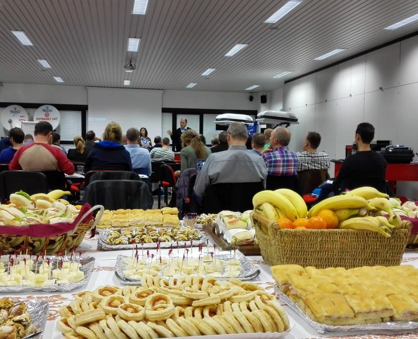 Teleco en Telair training in Lugo Italië