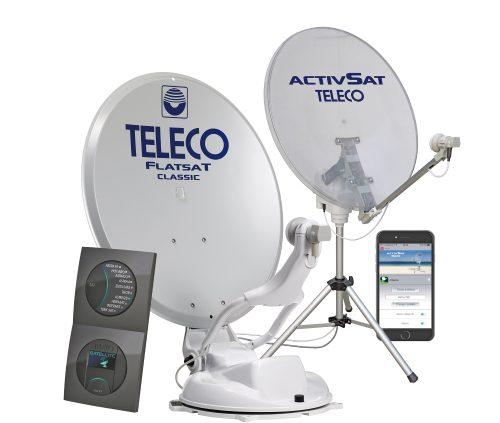 Automatische satellietsystemen teleco